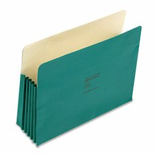 """Colorlife 5 1/4"""" Expansion Pocket, Straight Tab, Letter, 10/Box"""