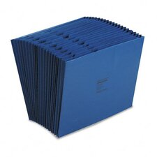 Colorlife Expanding A-Z Indexed Files, 21 Pockets, Letter