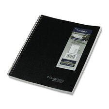"Cambridge Limited Cambridge Wirebound Notebook Planner, Legal Rule, 8 1/2"" X 11"", 80 Sheets"
