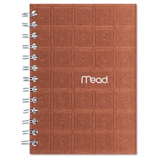 Recycled Notebook, 5 X 7, 80 Sheets, College Ruled, Perforated, Assorted (Set of 2)