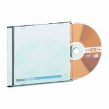 Dvd-R Discs with Jewel Cases, 4.7Gb, 16X, 10/Pack