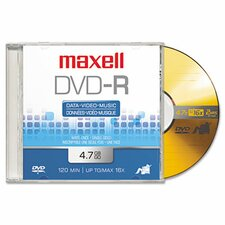 Dvd-R Discs, 4.7Gb, 16X, 5/Pack (Set of 2)
