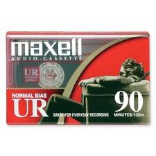 Normal Bias Audio Cassette, 90 Minute (Set of 4)