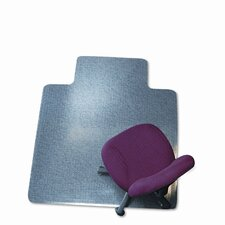 """45X53 Lip Chair Mat, Professional Series Anchorbar For Carpet Up To 3/4"""""""