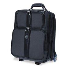 Overnight Laptop Case, Nylon, 16-1/8w x 10-1/8d x 18-1/2h, Black