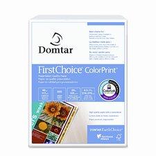 Domtar Colorprint Premium Paper, 98 Brightness, 28Lb, 8-1/2 X11, 500 Sheets/Ream