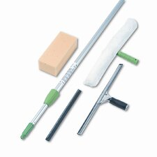Pro Window Cleaning Kit with 8-Ft. Pole