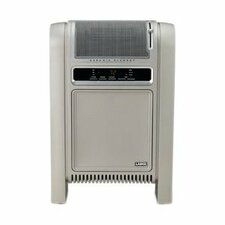 5,118 BTU Portable Electric Radiator Heater with Adjustable Thermostat