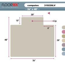 Cleartex Antistatic Standard Pile Carpet Chair Mat