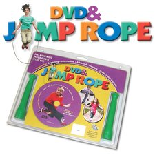 Fun and Fitness Kids Comprehensive DVD and Jump Rope