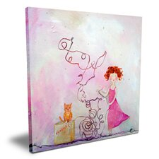 Wit & Whimsy Fragile Canvas Art