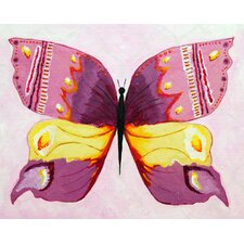 Admiral Butterfly Giclee Canvas Art