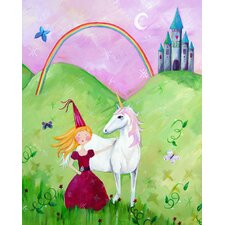 Wit & Whimsy Princess Blonde Canvas Art