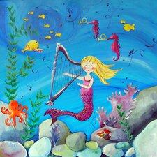 Mermaid Blonde Paper Print