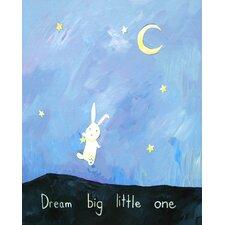 Words of Wisdom Dream Big Little One Paper Print