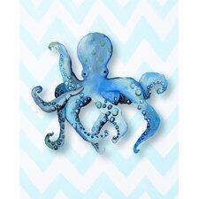 Nautical Octopus Giclée Canvas Art