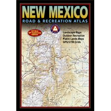 Benchmark New Mexico Road & Recreation Atlas, 7th Edition