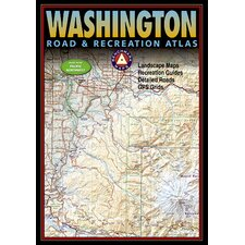 Benchmark Washington Road & Recreation Atlas, 5th Edition