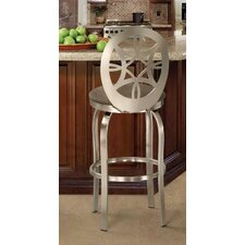 Provence Swivel Bar Stool with Cushion