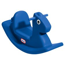 Rocking Horse in Primary Blue