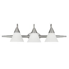 Sterling  Vanity Light in Brushed Nickel