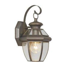 Monterey 1 Light Wall Lantern