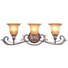 Villa Verona 3 Light Vanity Light