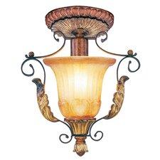 Villa Verona 1 Light Semi Flush Mount