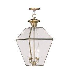 Westover 4 Light Outdoor Hanging Lantern
