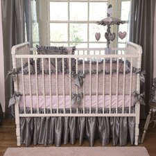 Charlotte 3 Piece Crib Bedding Set
