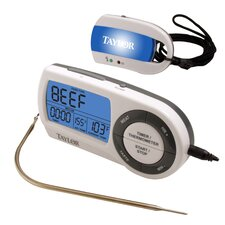 Wireless Remote Digital Food Thermometer