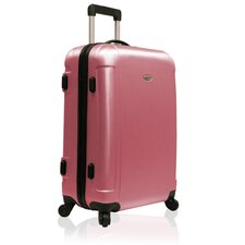 "Freedom Lightweight Hard-shell 25"" Spinner Suitcase in Pink"