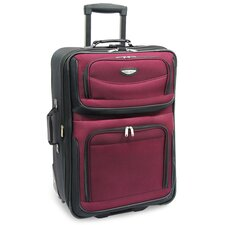 "Amsterdam 29"" Expandable Rolling Upright in Burgundy"