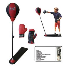 Kids Deluxe Boxing Punch Stand Set
