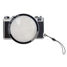 Fresnel 66mm Camera Bookmark with Magnifier (Set of 4)