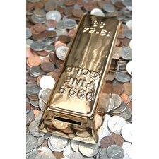 Gold Bar Coin Piggy Bank