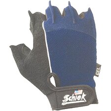 Cross Training Gloves in Blue / Black