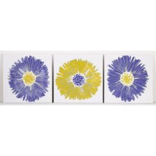 Periwinkle Wall Art (Set of 3)
