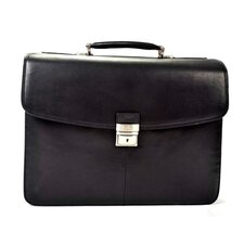 Gaetano Leather Laptop Briefcase