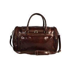 "Piana 20"" Italian Leather Duffel"