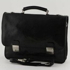 Firenze Leather Laptop Briefcase