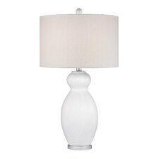"""28"""" H Table Lamp with Drum Shade"""