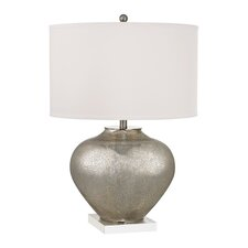 "28"" H Table Lamp with Drum Shade"