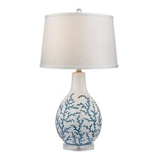 """27"""" H Table Lamp with Empire Shade"""