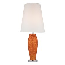 """Brick Work 27"""" H Table Lamp with Empire Shade"""