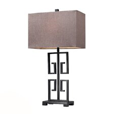 """HGTV Home 26"""" H Table Lamp with Rectangular Shade"""