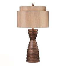 "HGTV Home 31.5"" H Table Lamp with Drum Shade"