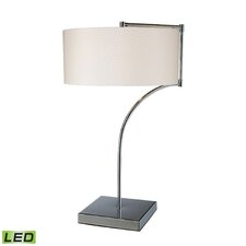 """Lancaster 22"""" H Table Lamp with Drum Shade"""