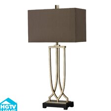"HGTV Home 33"" H Table Lamp with Rectangular Shade"