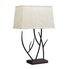 """Winter Harbour 27"""" H Table Lamp with Rectangular Shade"""